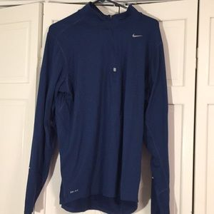 Navy blue nike Dri-fit jacket